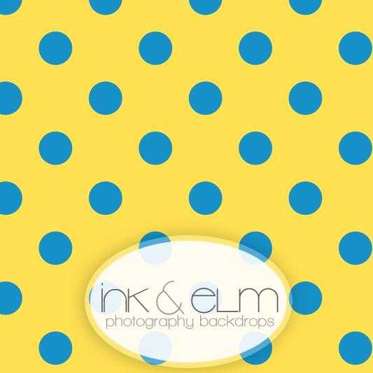 Polka Dot Backdrop Quot Minions Quot