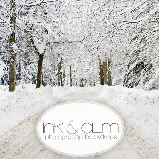 Holiday Photography Backdrop Quot White Christmas Quot