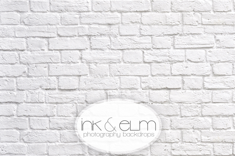 Old White Brick Wall Vinyl Photography Backdrop Great White Brick Wall
