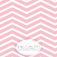 Photography Backdrop <br> Pink Chevrons Wide