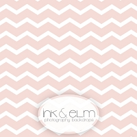 Photography Backdrop <br> Soft Pink Chevrons