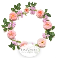 Photography Backdrop <br> Floral Wreath