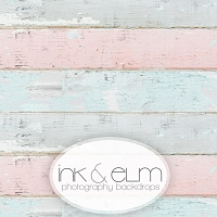 Photography Backdrop <br> Pastel Chic Planks