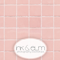Photography Backdrop <br> Perfectly Pink Tile