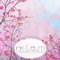 Photography Backdrop <br> Bursting with Blossom