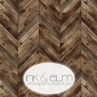 Photography Backdrop <br> Herringbone Planks