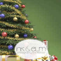 Photography Backdrop <br> Decorate the Tree