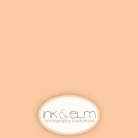 Photography Backdrop <br> Solid Orange Cream