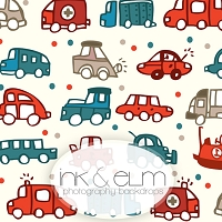 Photography Backdrop <br> Cars and Trucks