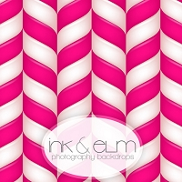 Photography Backdrop <br> Candy Cane Lane