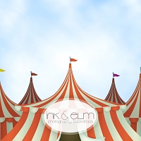 Photography Backdrop <br> Circus in Town