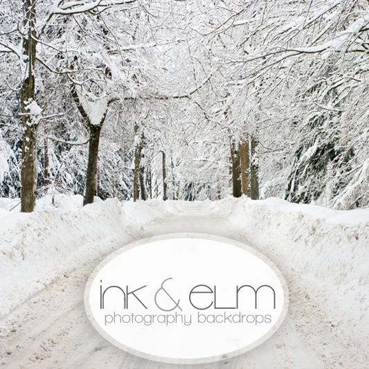 holiday photography backdrop white christmas