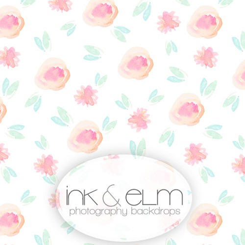 Photography Backdrop <br> Floral Poetry