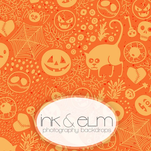 Photography Backdrop <br> All Things Halloween
