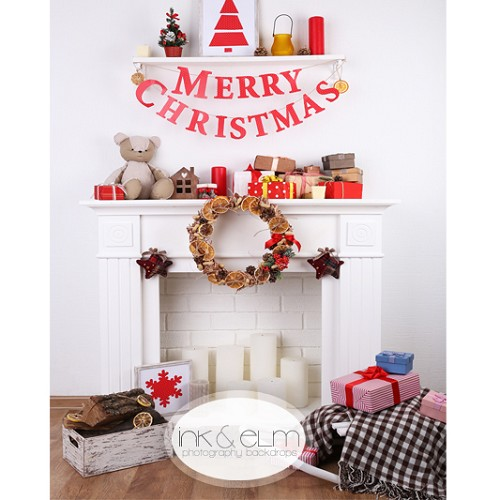Photography Backdrop <br> Cozy and Quaint Christmas