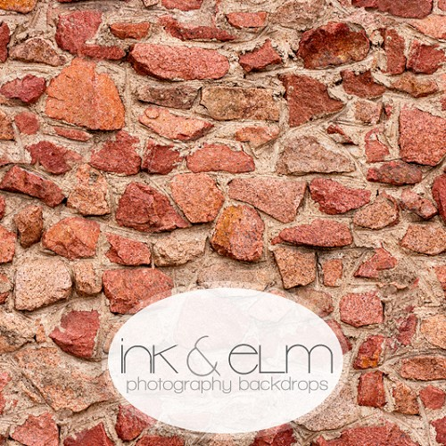 Photography Backdrop <br> Bricks and Stones