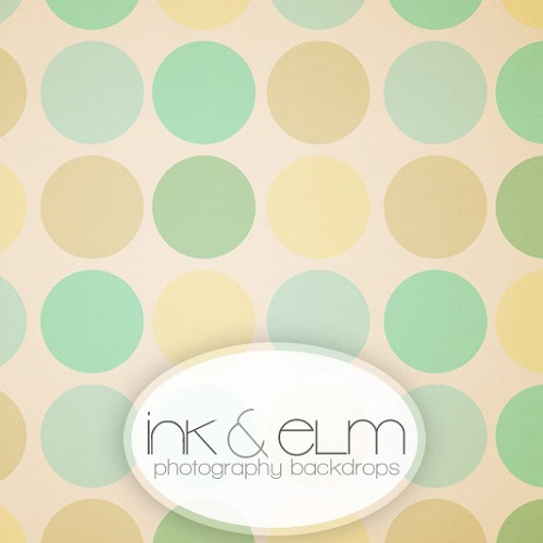 Photography Backdrop <br> Polka Dot Boutique