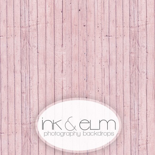 Photography Wood Backdrop <br> Powder Pink