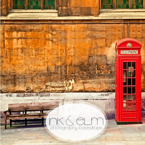Photography Backdrop <br> Phone Booth