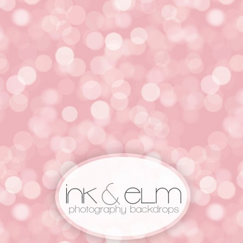 Photography Backdrop <br> Pretty in Pink Bokeh