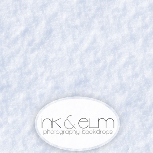 Photography Backdrop <br> Fresh Snow