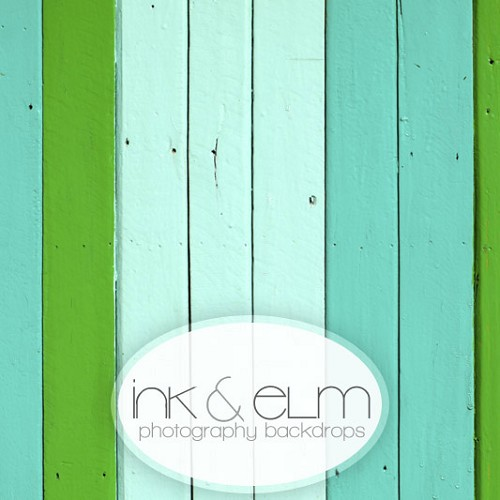 Photography Wood Backdrop <br> Hues of Blues