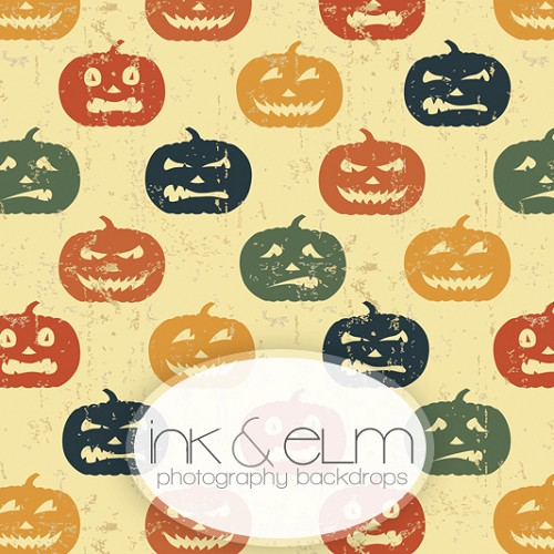 Photography Backdrop <br> Jack-O-Lantern